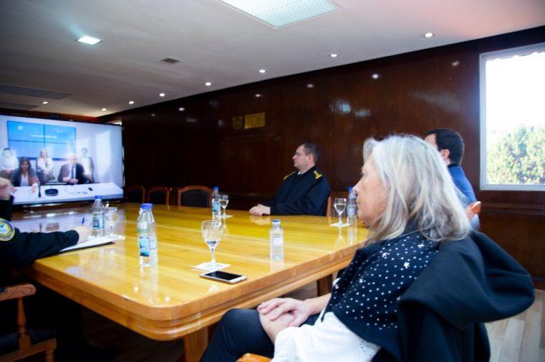 El Gobierno de la provincia refuerza los controles de sanidad en el paso fronterizo San Sebastián