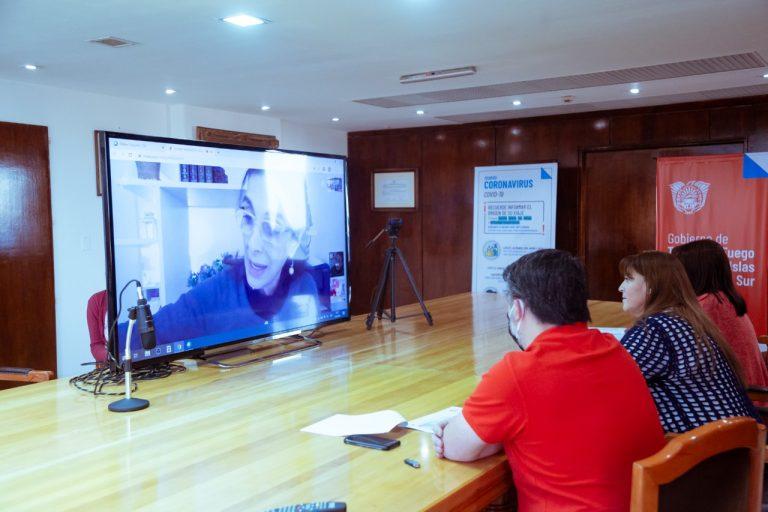Bielsa anunció la implementación de Argentina Construye y Argentina Construye Solidaria en Tierra del Fuego