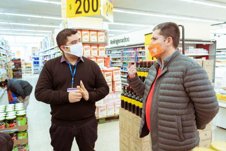 Se realizaron controles sanitarios y de precios en diferentes supermercados de Río Grande